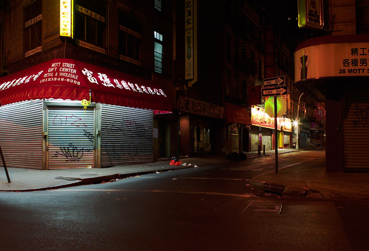 Chinatown After Dark
