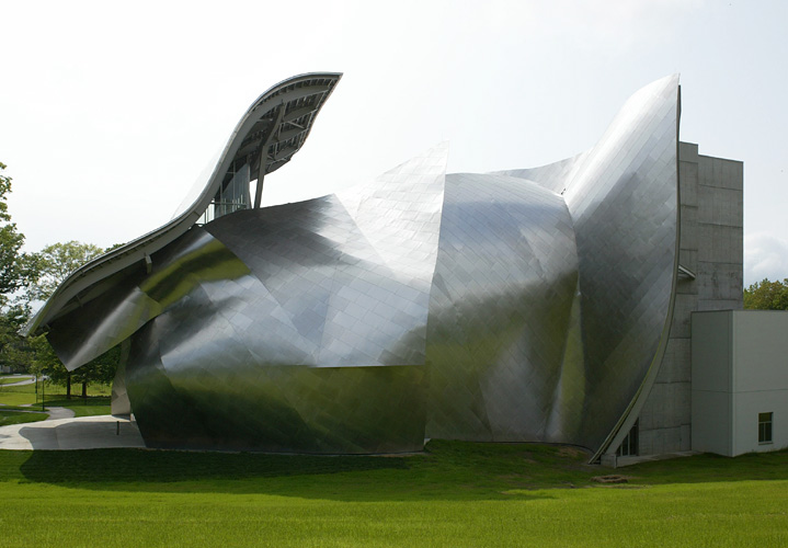 The Richard B. Fisher Center for the Performing Arts - Frank Gehry