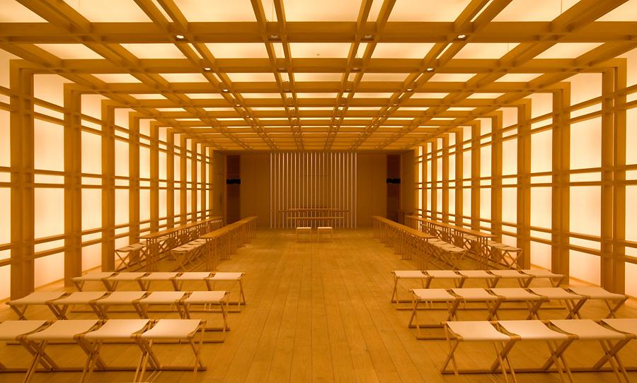 Shinto shrine inside the Grand Hyatt Tokyo