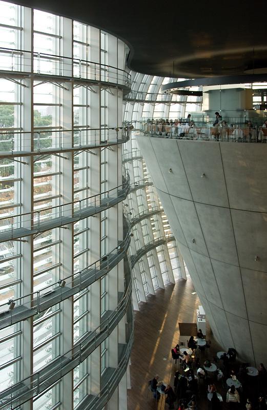 The National Art Center, Tokyo (2007) - Kisho Kurokawa