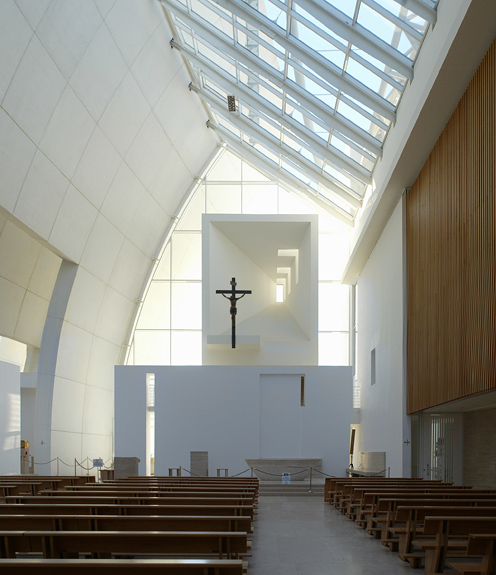 Jubilee church richard meier for The jubilee church