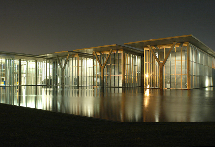 the modern museum of fort worth tadao ando