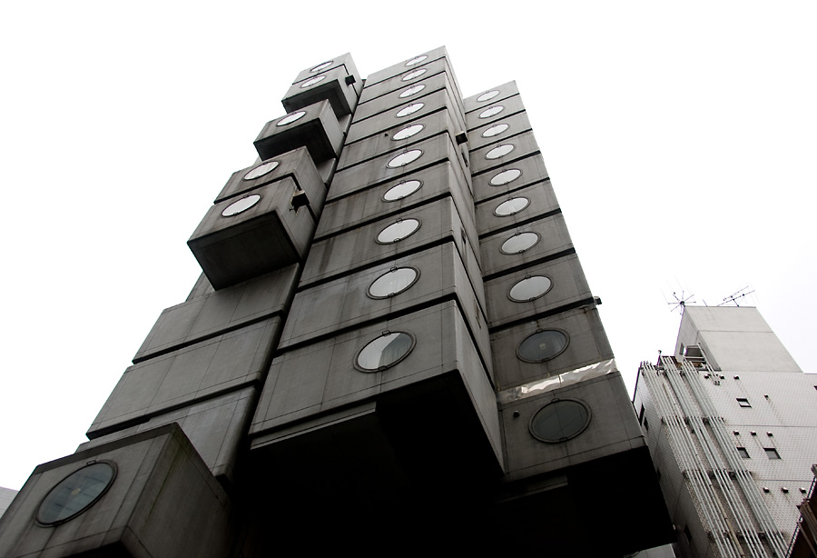 Nakagin Capsule Tower - Kisho Kurokawa
