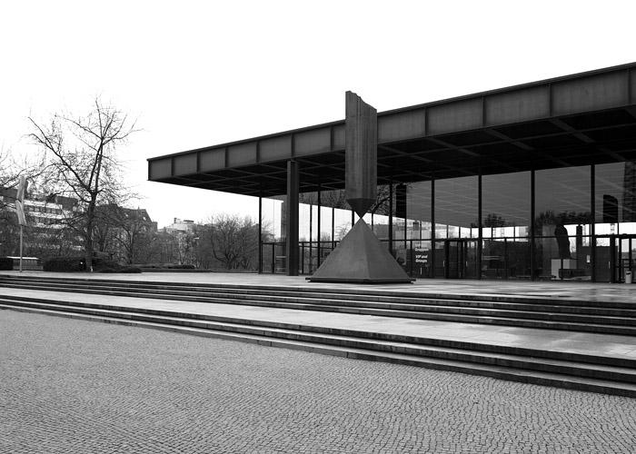 Neue Nationalgalerie - Ludwig Mies van der Rohe