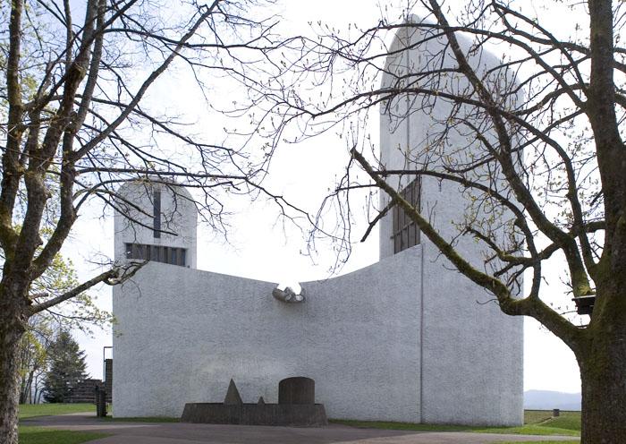 La Chapelle Notre-Dame du Haut - Le Corbusier
